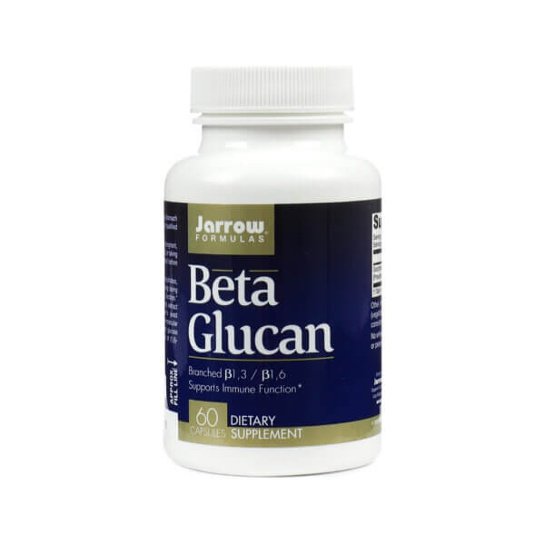 Jarrow Formulas Beta Glucan yeast supplement prebiotic supplement for immune system health health food store madison wi