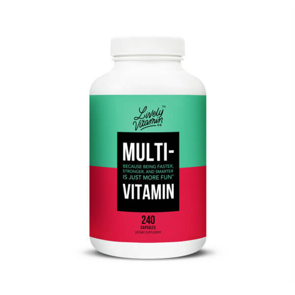 Lively Vitamin Co. Multi Vitamin The Healthy Place Madison W
