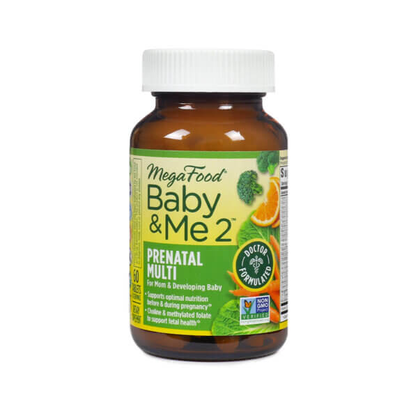 MegaFood Baby & Me 2 Prenatal Multi The Healthy Place Madison WI
