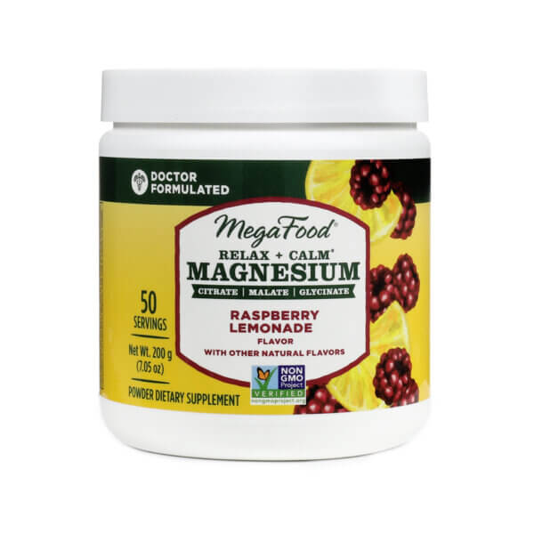 MegaFood Relax + Calm Magnesium Powder The Healthy Place Madison WI