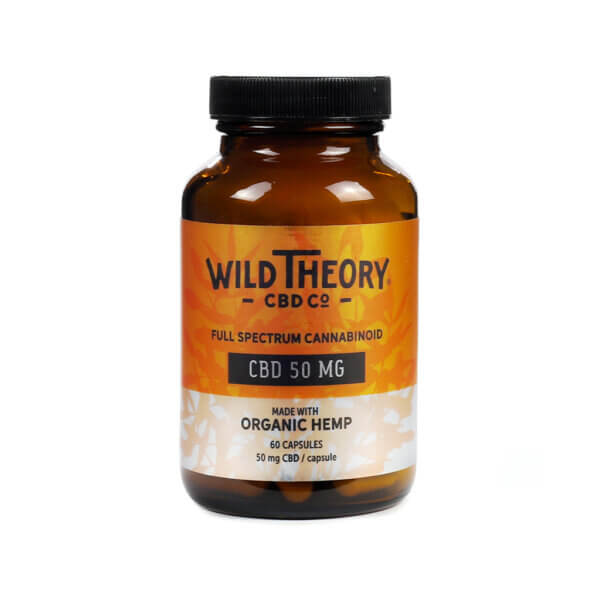 Wild Theory Capsules 50mg The healthy Place Madison WI