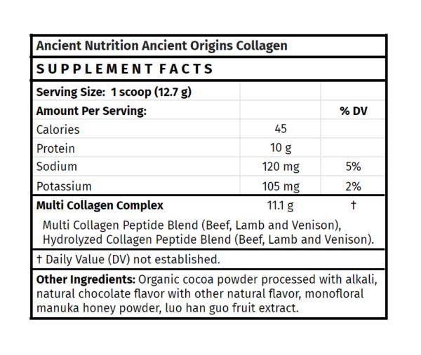 Ancient Nutrition Ancient Origins Collagen bovine collagen organic collagen powder health food store madison wi