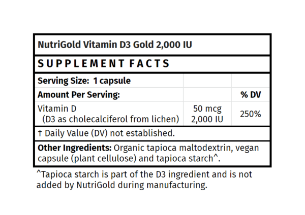 nutrigold vitamin d3 gold supplement madison wi the healthy place