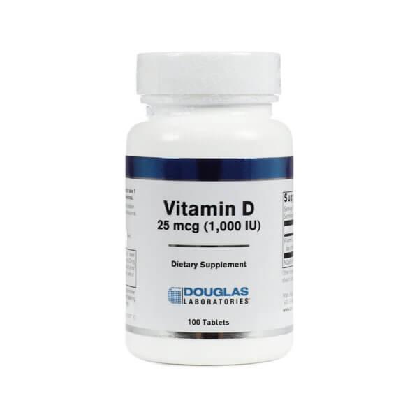 Douglas Laboratories Vitamin D 1000IU health food store madison wi the healthy place